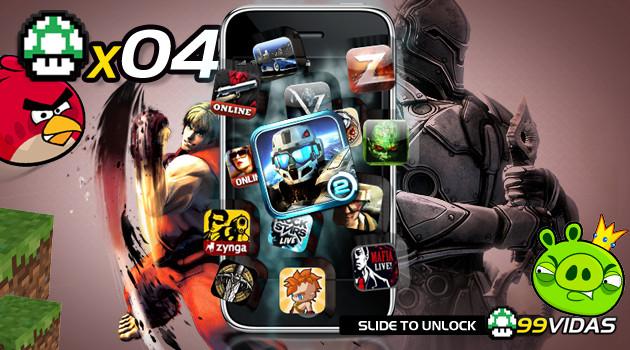 99Vidas 04 – Celular é um videogame?