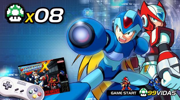 99Vidas 08 – Megaman X