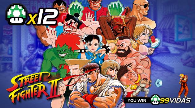 99Vidas 12 – Street Fighter II