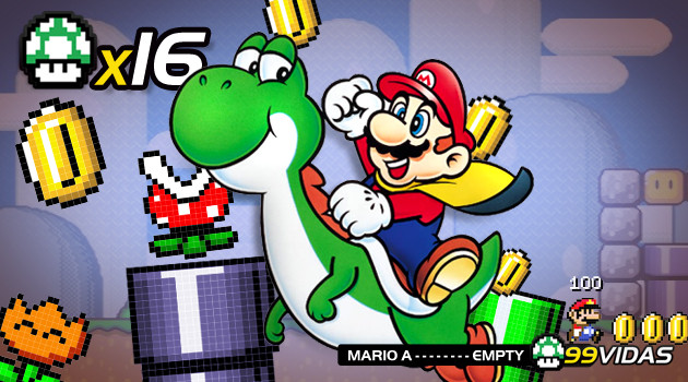 99Vidas 16 – Super Mario World