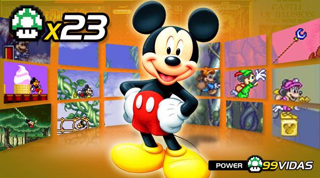 99Vidas 23 – Mickey Mouse, de Castle of Illusion a Magical Quest