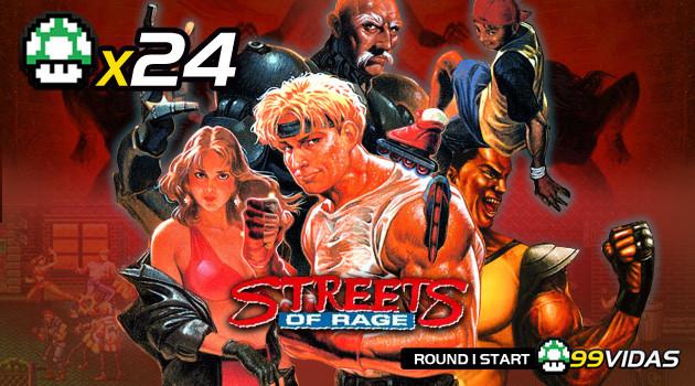 99Vidas 24 – Streets of Rage 1, 2 e 3