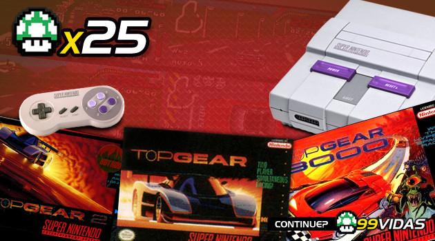 99Vidas 25 – Top Gear 1, 2 e 3000