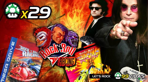 99Vidas 29 – Rock N' Roll Racing