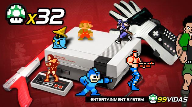 99Vidas 32 – NES/Nintendinho