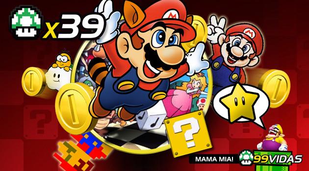 99Vidas 39 – Super Mario Bros 1, 2 e 3
