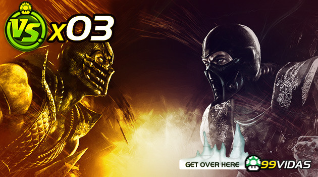 VERSUS #3 – SCORPION VS SUB-ZERO