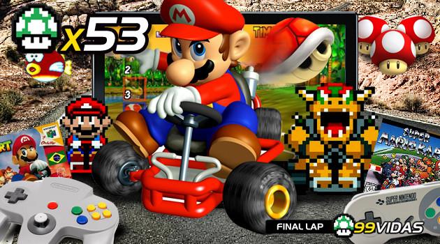 99Vidas 53 – Super Mario Kart e 64