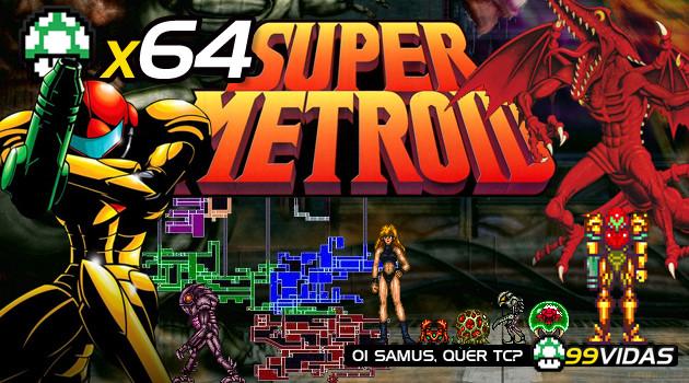 99Vidas 64 – Super Metroid