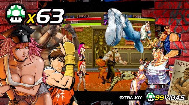 99Vidas 63 – Final Fight, a Série