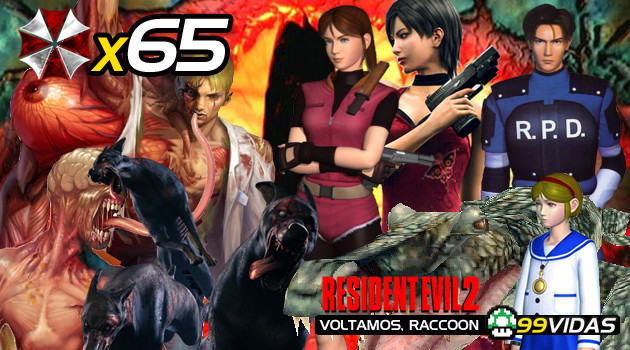 99Vidas 65 – Resident Evil 2