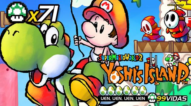 99vidas 71 – Yoshi's Island (Super Mario World 2)