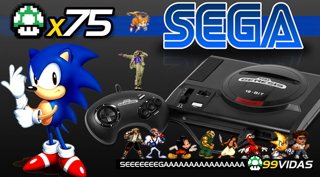 99Vidas 75 – Mega Drive