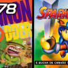 99Vidas 78 – 2-Pak: Cannon Fodder e Sparkster