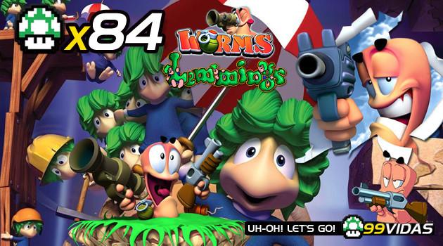 99Vidas 84 – 2-Pak: Worms e Lemmings