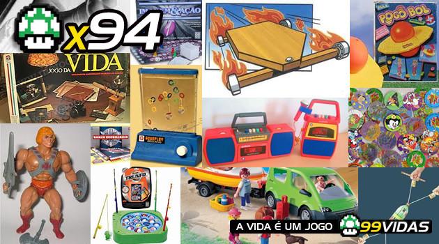 99Vidas 94 – Brinquedos da Infância