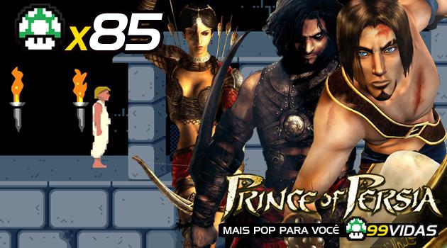 99Vidas 85 – Prince of Persia, A Série