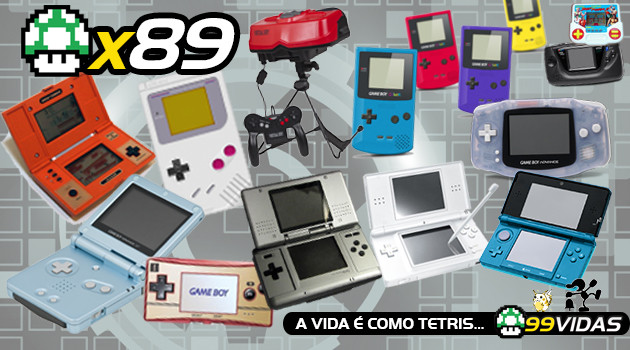 99Vidas 89 – Portáteis Nintendo: Do Game Boy ao DS