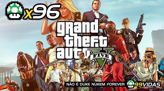 99Vidas 96 – Grand Theft Auto V (GTAV)