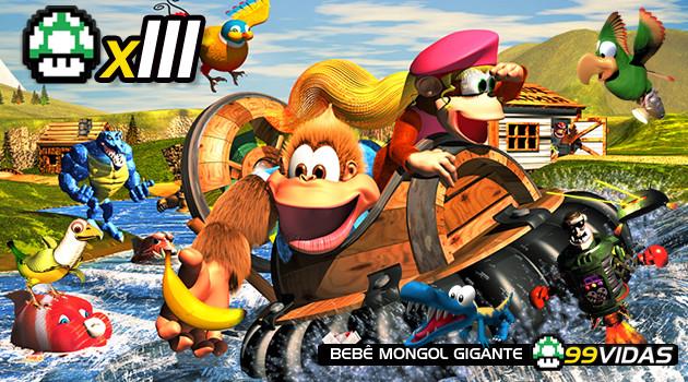 99Vidas 111 – Donkey Kong Country 3