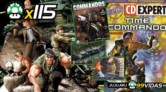 99Vidas 115 – 2-Pak: Commandos e Time Commando