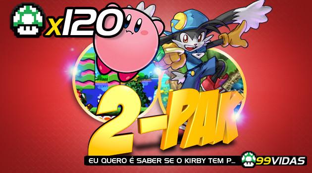 99Vidas 120 – 2-Pak: Klonoa e Kirby