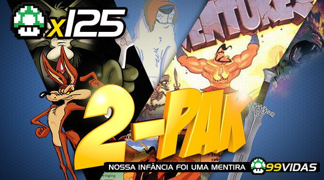 99Vidas 125 – 2-Pak: Sheep Raider e Herc's Adventures