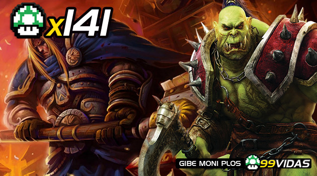 99Vidas 141 – Warcraft 1, 2, 3 e WOW