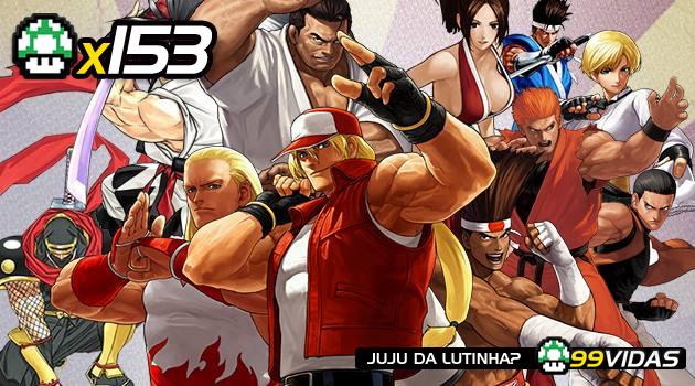 99Vidas 153 – 4×4 – Art of Fighting, Fatal Fury, Samurai Shodown e World Heroes