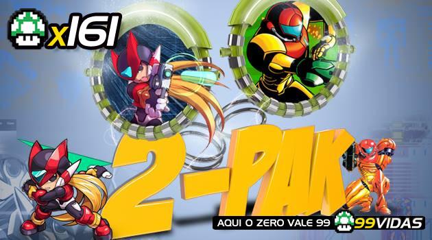 99Vidas 161 – 2-Pak: Metroid Zero Mission e Mega Man Zero