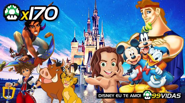 99Vidas 170 – Disney nos Videogames