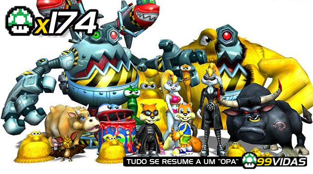 99Vidas 174 – Conker's Bad Fur Day