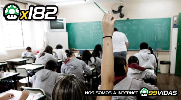 99Vidas 182 – Histórias de Escola 2