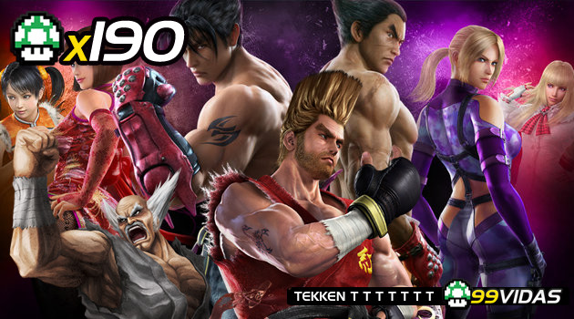 99Vidas 190 – Tekken 1, 2, 3, Tag Tournament, 4, 5 e 6
