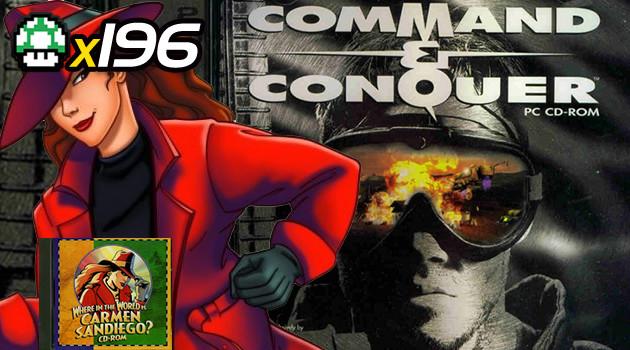 99Vidas 196 – 2-Pak: Command and Conquer e Carmen Sandiego