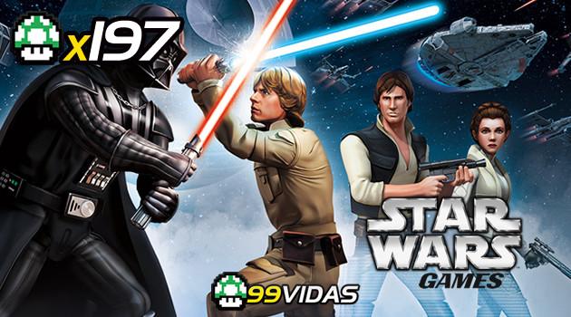 99Vidas 197 – Star Wars nos Videogames