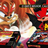 99Vidas 231 – 2-Pak: Aero the Acro-Bat e Zero the Kamikaze Squirrel
