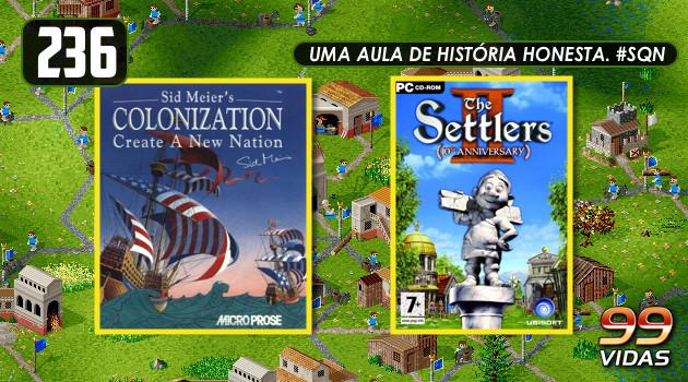 99Vidas 236 – 2-Pak: Colonization e The Settlers 2
