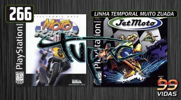 99Vidas 266 – 2-Pak: Moto Racer e Jet Moto