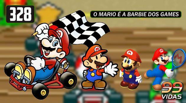 99Vidas 328 – Spin-offs do Mario