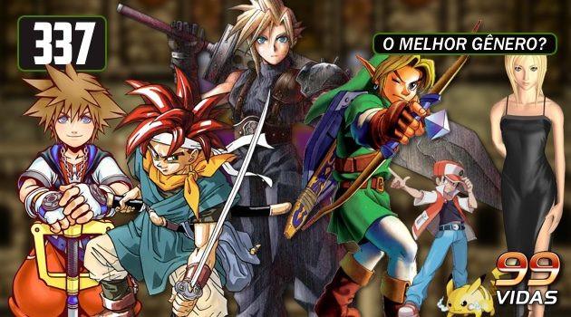 99Vidas 337 – Hall da Fama dos Gêneros: RPG