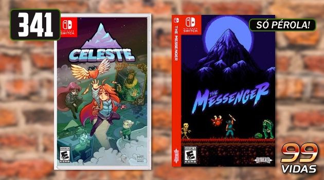 99Vidas 341 – 2-Pak: Celeste e The Messenger