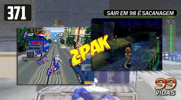 99Vidas 371 – 2-Pak: Pepsiman e Akuji the Heartless