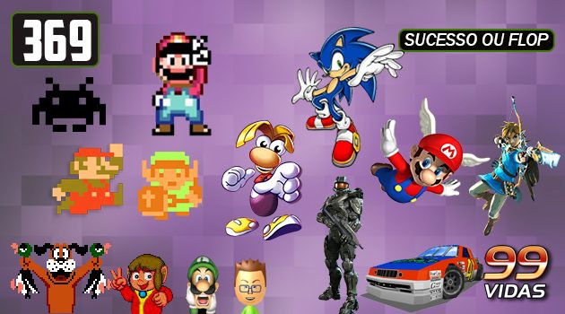 99Vidas 369 – Jogos de Lançamento
