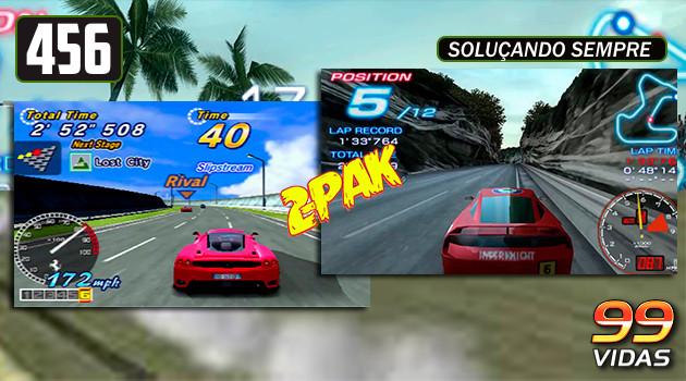 99Vidas 456 – 2-Pak: Ridge Racer e OutRun 2006: Coast 2 Coast