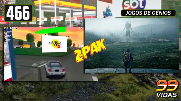 99Vidas 466 – 2-Pak: Pickup Express e Death Stranding