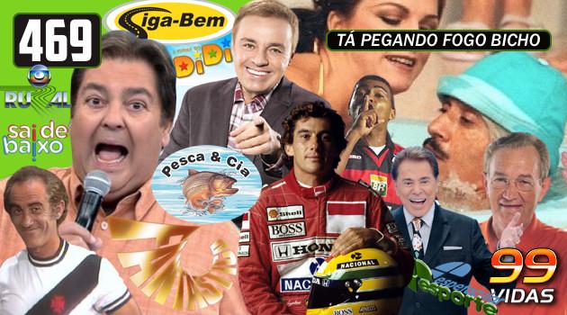 99Vidas 469 – Na TV: Domingo na Televisão Brasileira