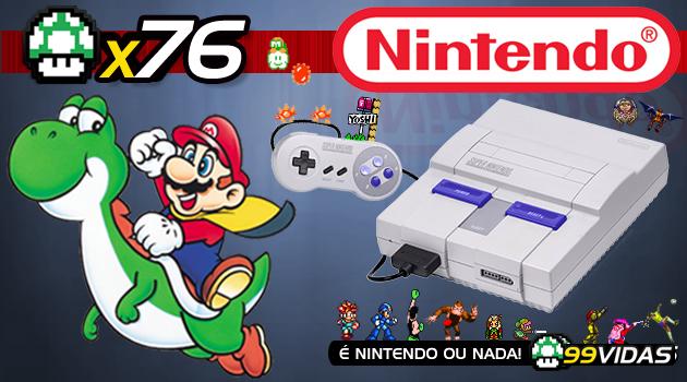 99Vidas 76 - Super Nintendo (SNES)