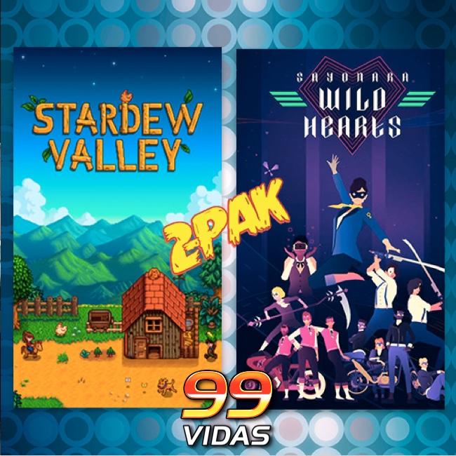 99Vidas 426 - 2-Pak: Stardew Valley e Sayonara Wild Hearts