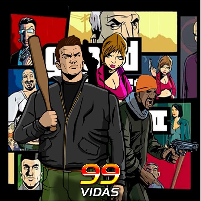 99Vidas 428 - Grand Theft Auto III (GTA3)